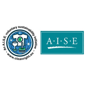 International Association for Soaps, Detergents and Maintenance Products (AISE) logo