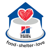 Hill's Food, Shelter & Love logo